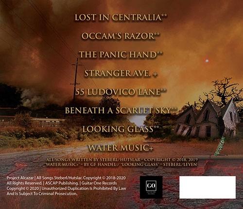 Lost In Centralia Song List